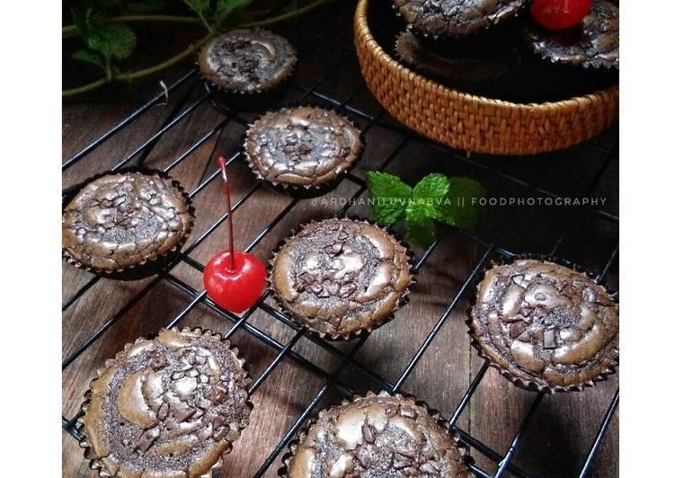 Mini Chewy Brownies #pr_browniesDCC