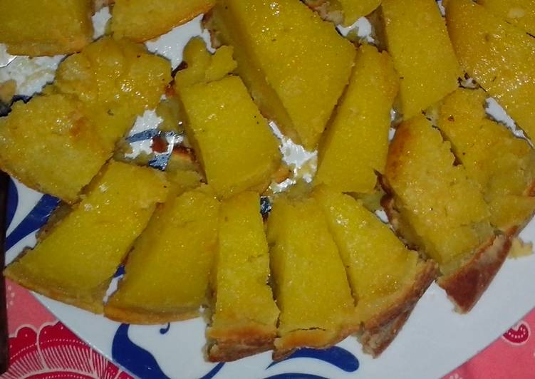 Kue Suri (pake baking pan)