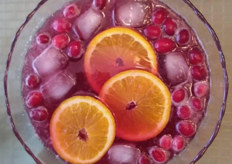 Quick Cranberry Punch