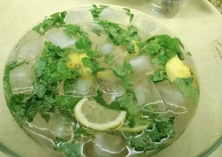 Air laici lemon pudina - resepipouler.com