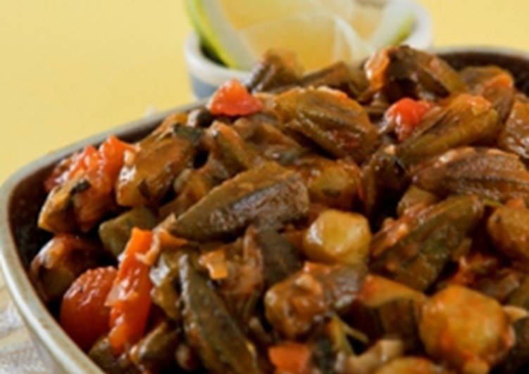 Easiest Way to Make Appetizing Baby okra in tomato sauce – bamieh bi zeit