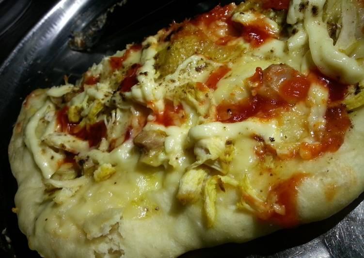 Bagaimana Menyiapkan Piza Ayam Mayo Cheese (pake happycall) yang Bikin Ngiler