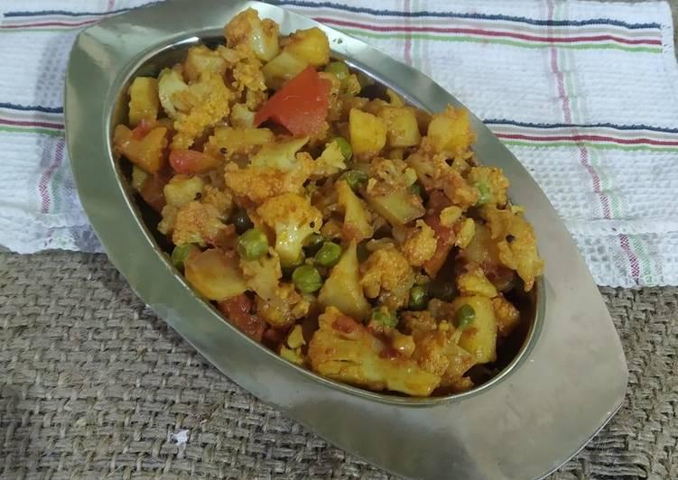 Recipe of Homemade Cauliflower sabji