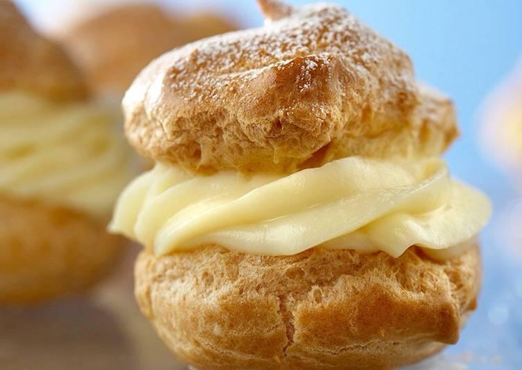 Pastry Cream Vanilla Custard Filling