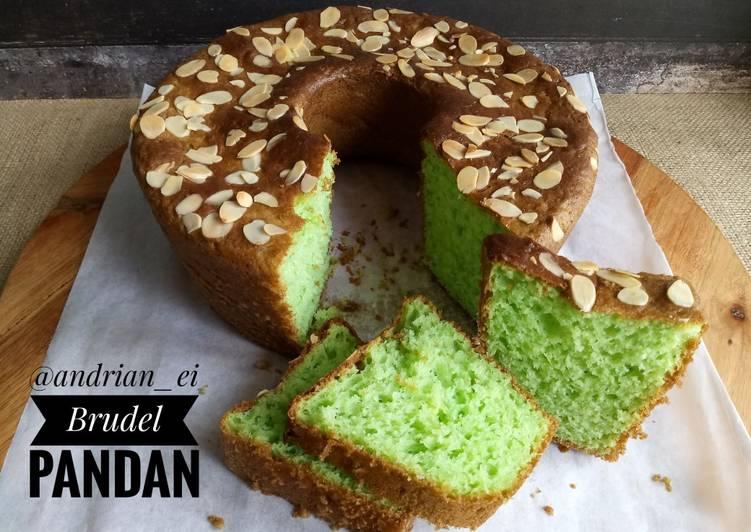 Brudel Cake Pandan