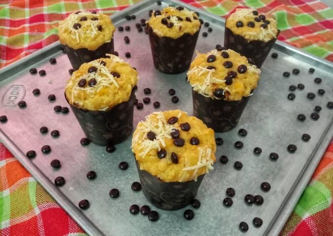 Muffin JaSuKe (Jagung Susu Keju)