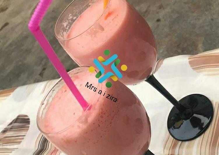 Water Melon milkshakes