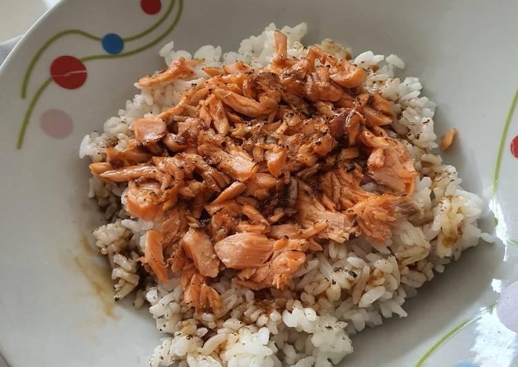 Aburi Salmon ala resto jepang