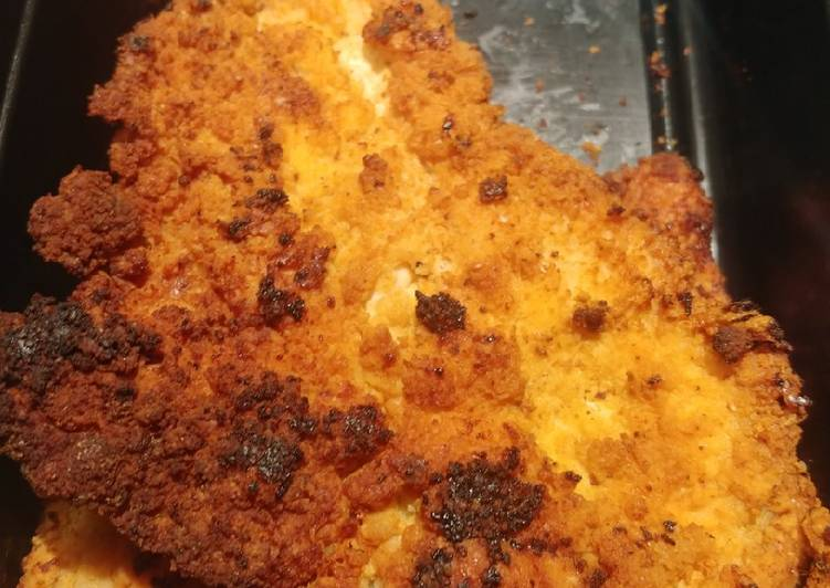 Keto Breaded Chicken Cutlets