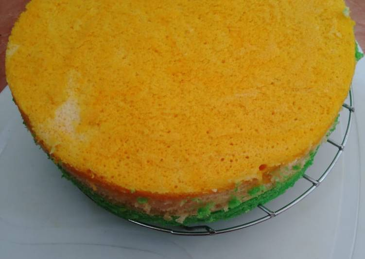 Cake kukus, simple, lembut poll