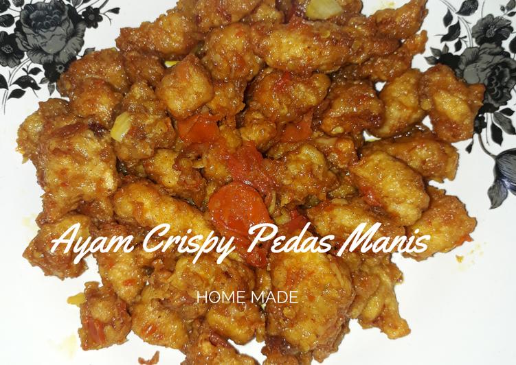 Ayam Crispy Pedas Manis