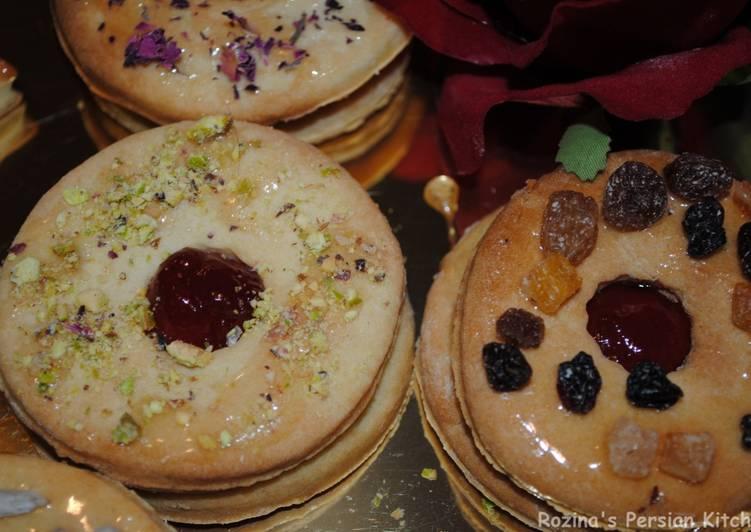 Steps to Prepare Ultimate Marmalade cookies (Shirni Mashhadi)
