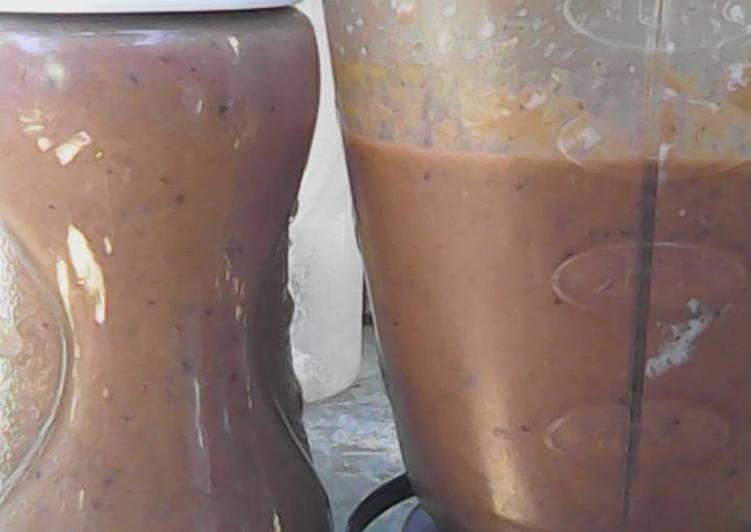 Purslane smoothie