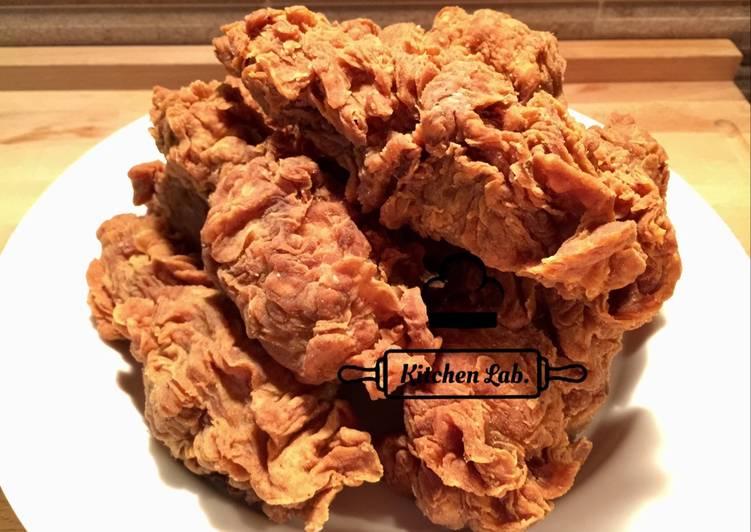 Ayam goreng crispy K-lab (not instant)