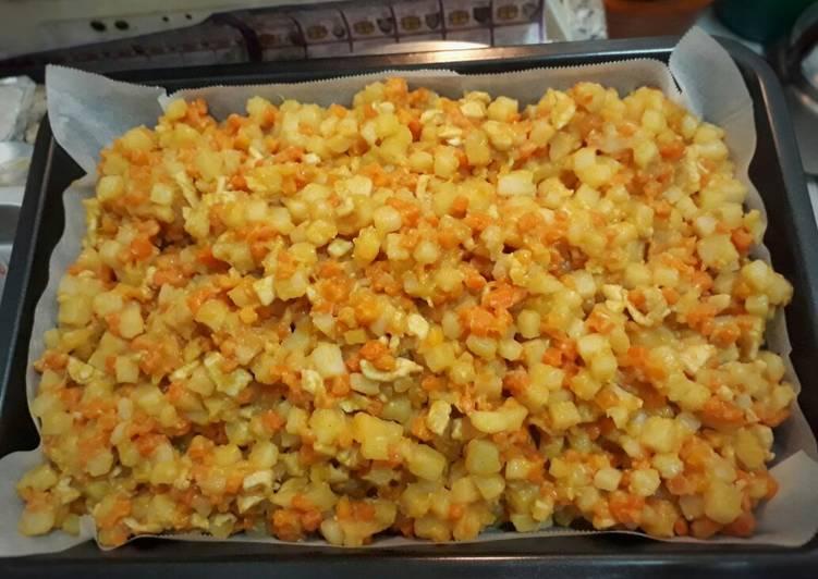 Resep Kentang kari untuk isian pastel,risoles,bakpao & roti Paling Joss