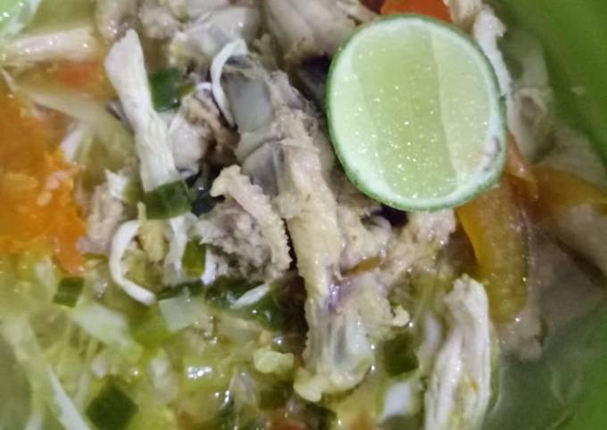 Resep Soto Ayam Semarangan Anti Gagal