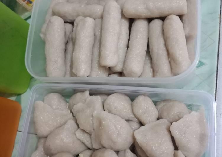 Pempek telur & lenjer resep asli wong plembang