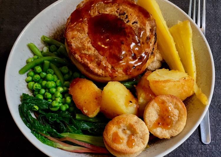 Vegan Sourdough Yorkshire Puddings 🌱🥳