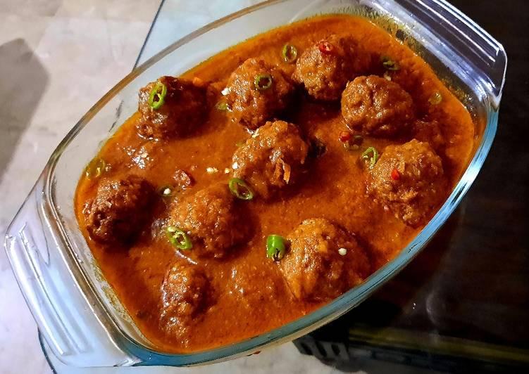 How to Make Favorite Kofta Curry