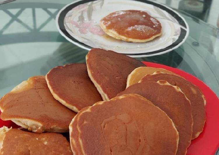 Resep Pancake Simple dan Gampang Bikin Ngiler