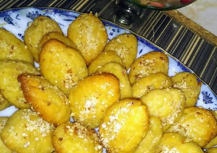 Turkish Samolina Moist Cookies