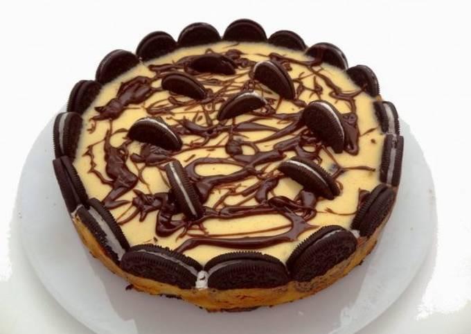 Cheesecake aux oréos