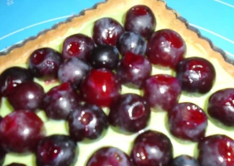 Pâtissière raisin-pistache