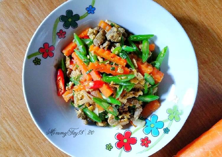 Tumis Daging Sayur