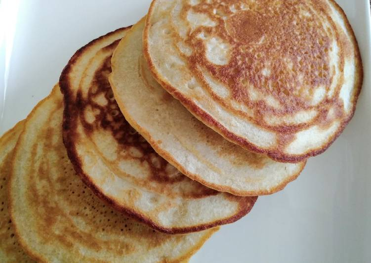 Simple Way to Make Ultimate Soft fluffy pancakes