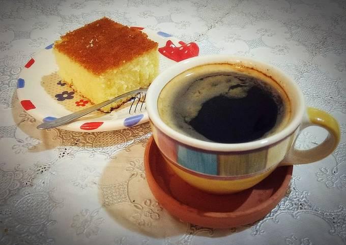 Gâteau de semoule ☕