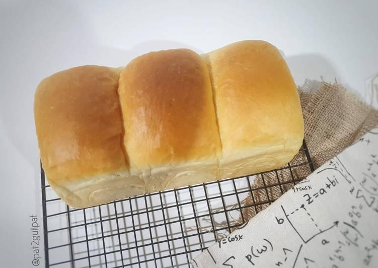 Yudane Shokupan Bread | Roti Sobek Yudane Method