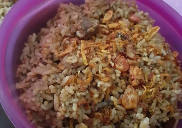 Nasi kebuli rumahan