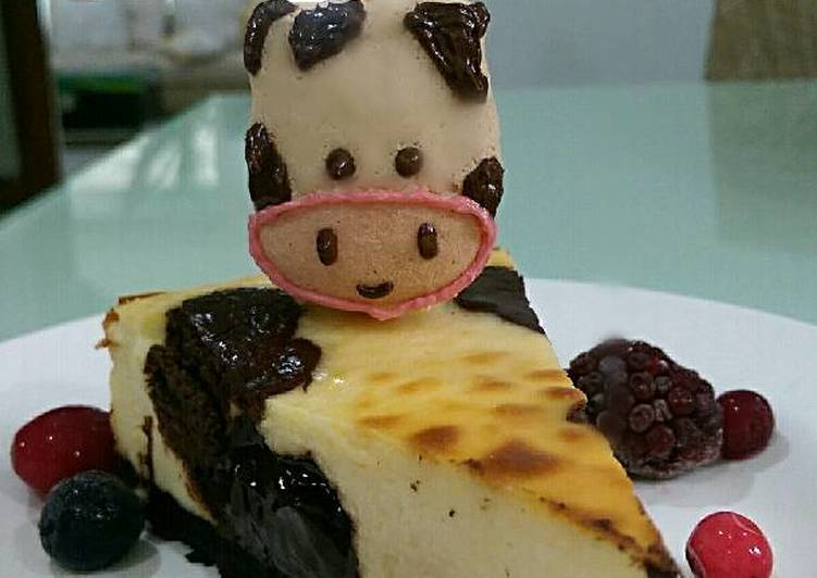 Recipe: Tasty Mooooo cheesecake
