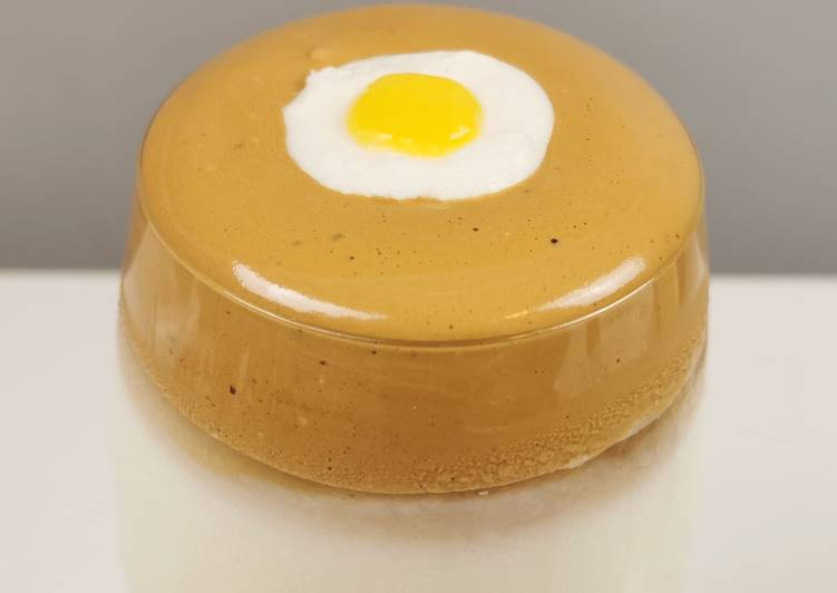 Dalgona Coffee withSunny Side Up