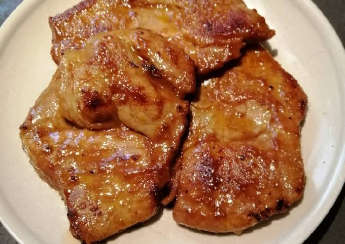 Lemon grass Pork Chop