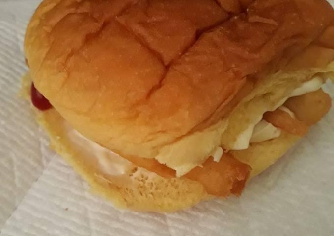 French Fry Sandwich