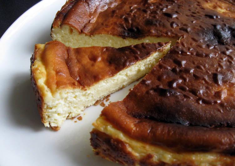 Basque Cheesecake 'Tarta De Queso'