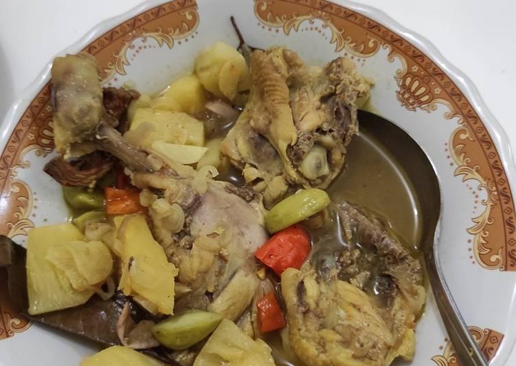 Pindang ayam nenas khas palembang