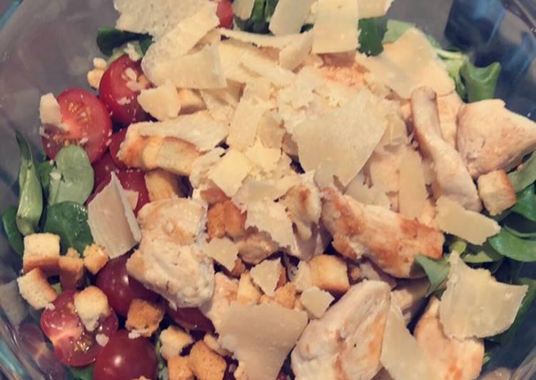 Comment Faire Délicieux Salade ceasar