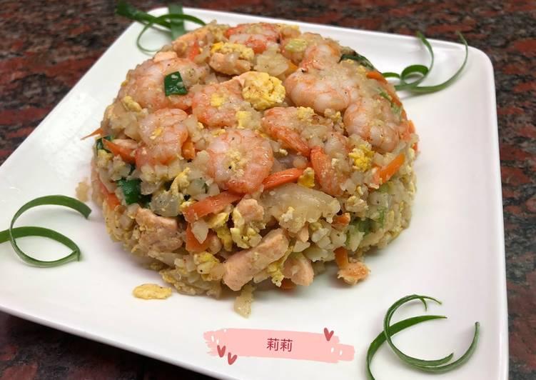 Nasi goreng kembang kol 白花椰炒飯