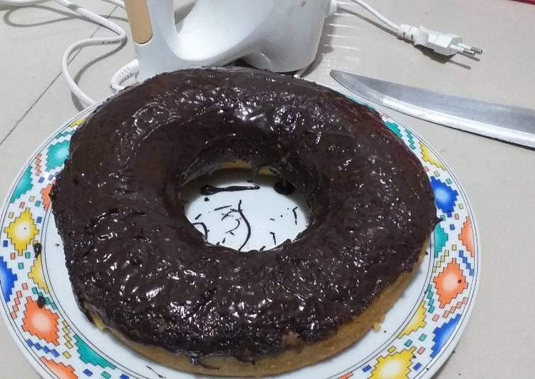 33.Bolu Singkong Oles Coklat - cookandrecipe.com