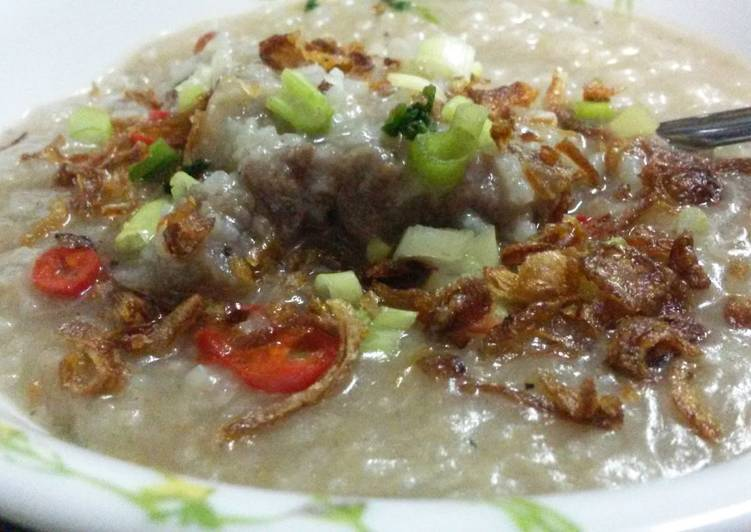 Bubur Lambuk (Malaysian Porridge)