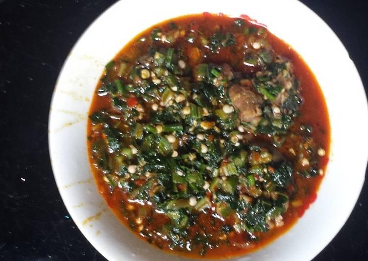 How to Make Super Quick Homemade Fresh okro soup