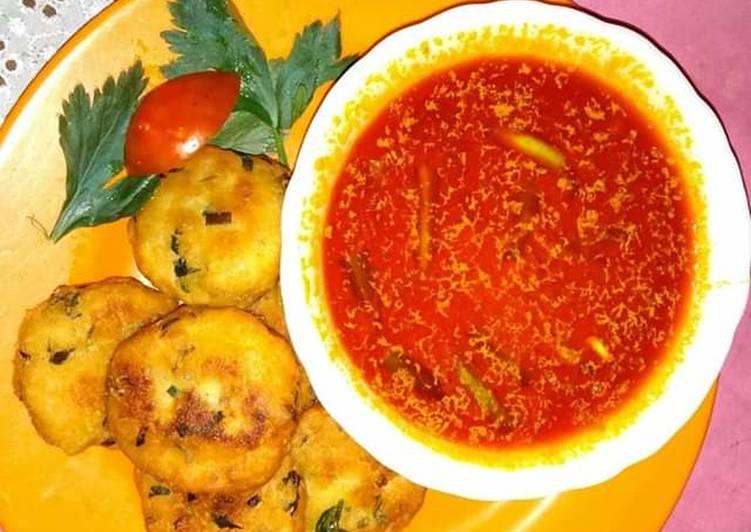 Khima (kare vagetable dan daging cincang)