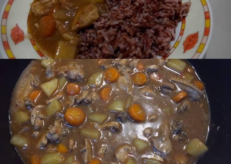 Japanese Chicken Curry (Kari Ayam ala Jepang)