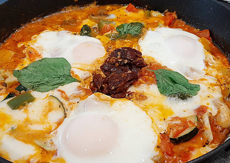 Egg in Hell / Telur asam pedas / 에그인헬 (Tren Korea)