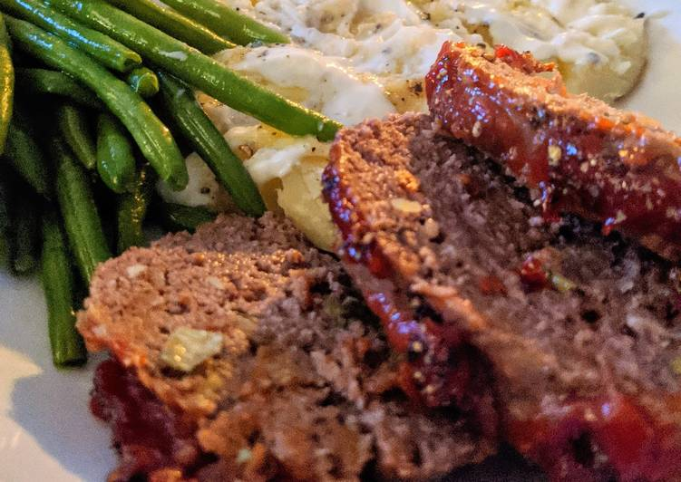 Easy Meatloaf, Choosing Fast Food That's Good For You