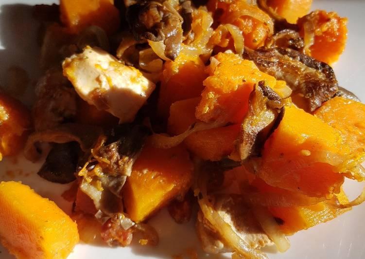 La Délicieuse Recette du Sauté de poulet butternut et pleurotes