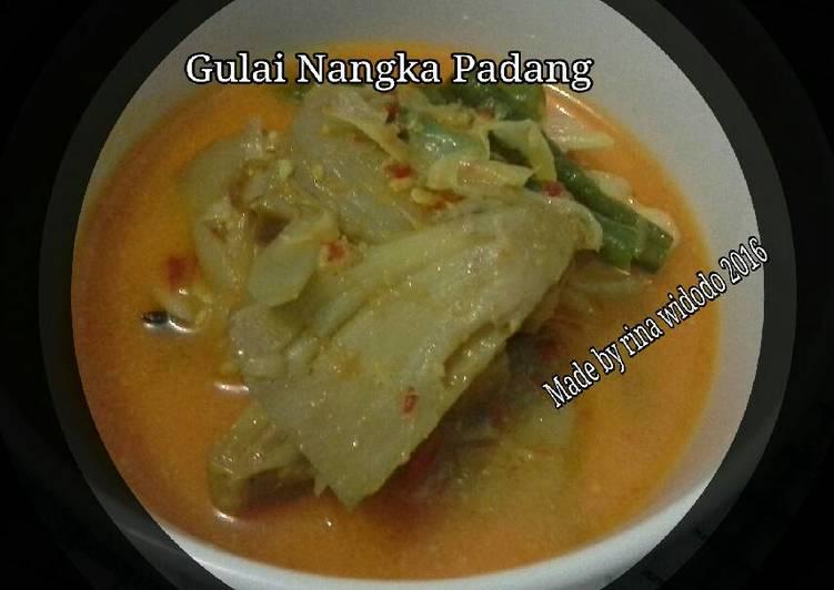 Gulai Nangka ala RM Padang