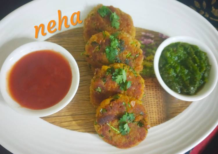 Recipe of Super Quick Homemade Lauki/Bottle gourd chana daal leftover sabzi cutlets